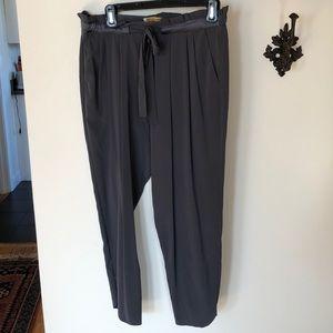 Ramy Brook grey silk pants